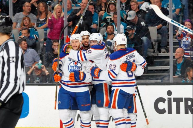 Zach Kassian was the first Oiler to score game-winning goals in consecutive games goals since Fernando Pisani in 2006. Photo courtesy NHL Public Relations via Twitter