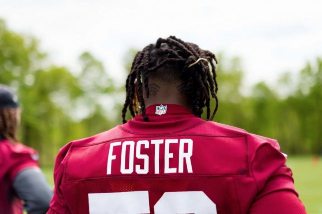 Reuben Foster missed 16 games during his first two NFL seasons while playing for the San Francisco 49ers. Photo courtesy of Garrett Campbell/Washington Redskins