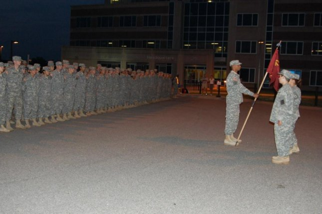 Fort Lee soldiers assembled on August 1, 2014. (Facebook/U.S. Army Fort Lee)