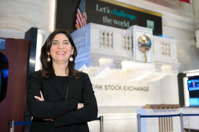 Stacey Cunningham will be the first woman to lead the New York Stock Exchange in its 226-year history. Photo courtesy of Stacey Cunningham/Twitter