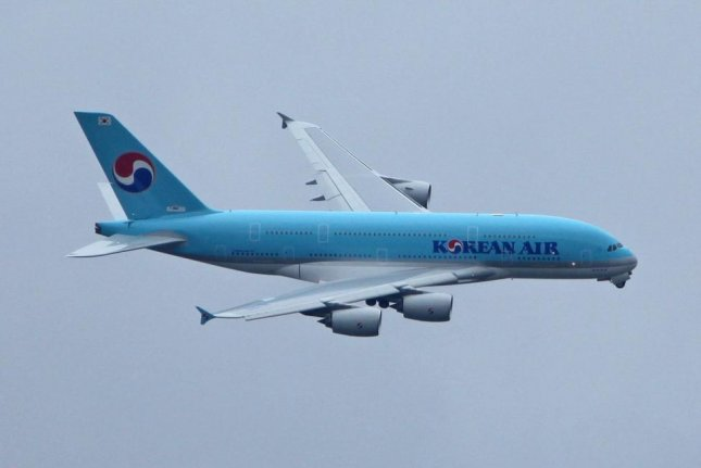 Korean Air flight 1203 (not pictured) returned to its point of departure Thursday morning less than an hour after takeoff. File Photo by David Silpa/UPI