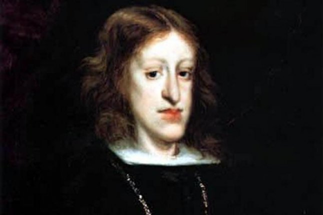 King Charles II of Spain boasted one of the most pronounced Habsburg jaws, a facial deformity characterized by a protruding lower jaw and lip. The last of the Habsburg line was unable to produce an heir. Photo by Don Juan Carreño de Miranda