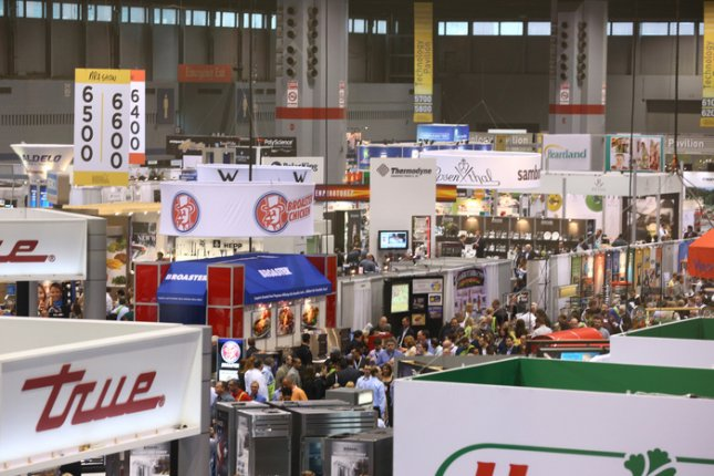 Shot of the show floor during the 2012 National Restaruant Association Show. (Courtesy NRA).