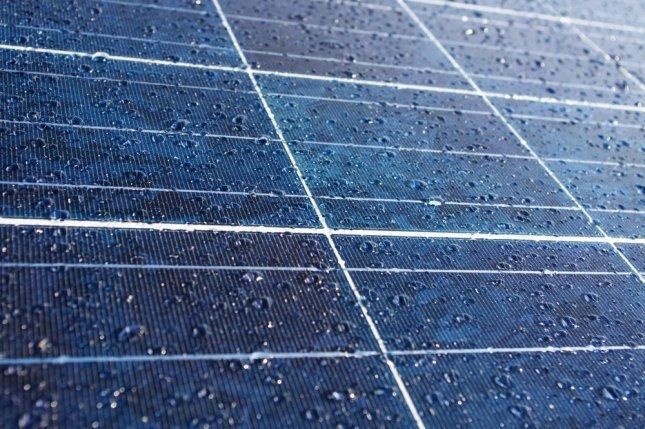 New technology promises to keep solar panels working in the rain. Photo by PanicAttack/Shutterstock
