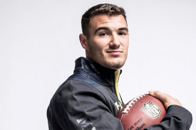 The Chicago Bears drafted former North Carolina quarterback Mitchell Trubisky with the No. 2 pick in the 2017 NFL Draft. Photo courtesy of the Chicago Bears/Instagram