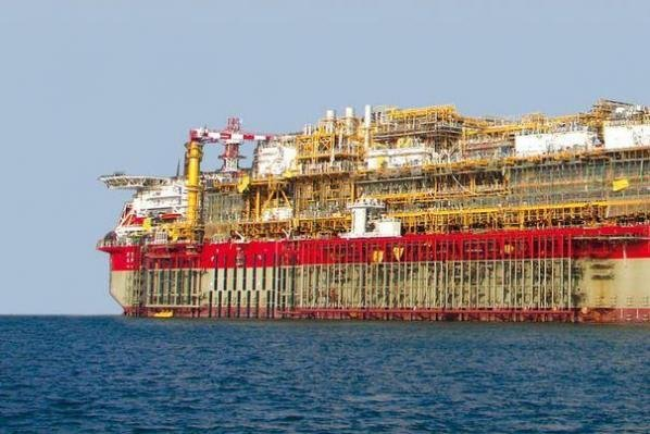 French energy company Total said it started pulling oil out of a field off the coast of Brazil using floating infrastructure. Photo courtesy of TechnipFMC