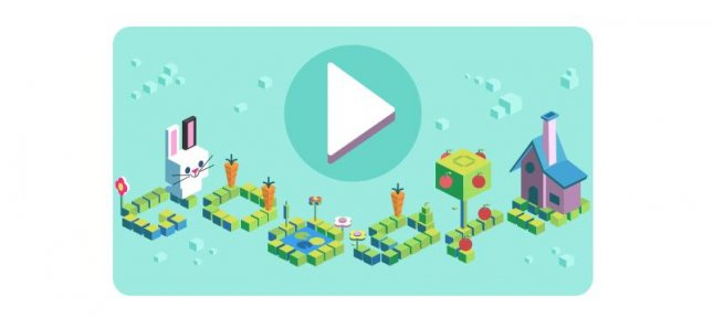 Google has a new game to mark 50 years of children learning how to code. Image courtesy of Google