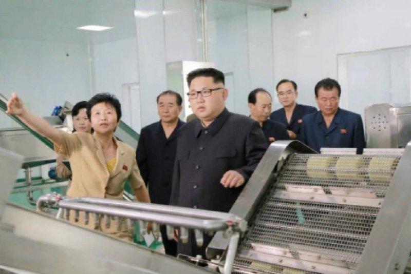 Kim Jong Un touts new North Korea kimchi factory - UPI com