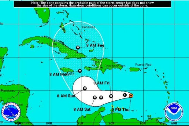 Matthew Becomes Hurricane Heads To Jamaica Cuba Bahamas