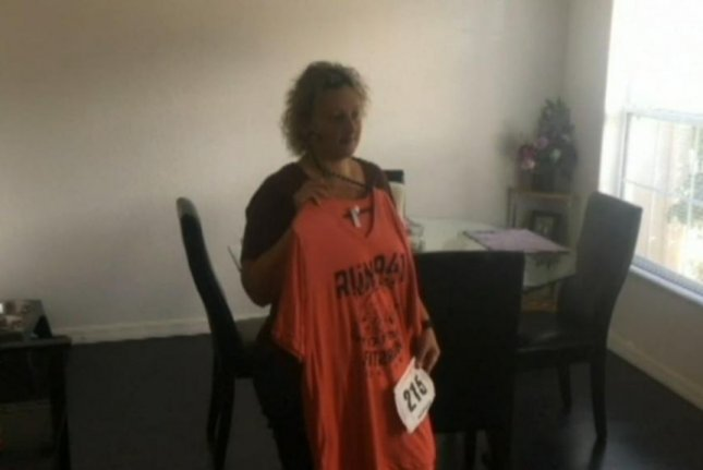 A Florida woman ended up lost for 12 hours when she took a wrong turn during a half-marathon. Screenshot: WTVJ-TV