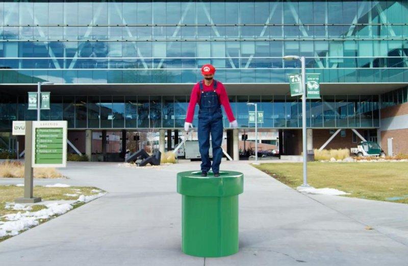 YouTube filmmaker recreates 'Super Mario Run' with parkour
