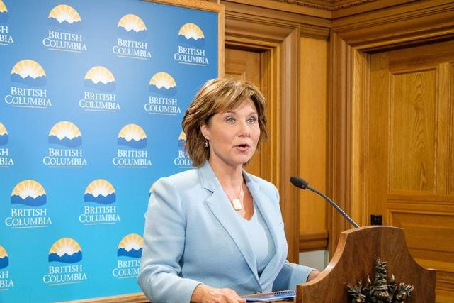 British Columbia Premier Christy Clark says conditions are satisfied to triple the capacity of the existing Trans Mountain oil pipeline. Photo courtesy of the premier's office
