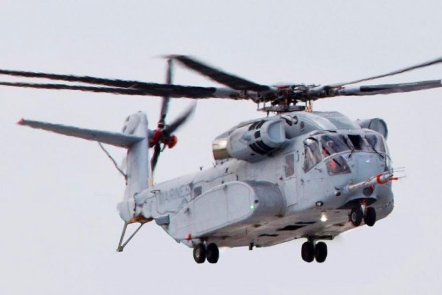 The new CH-53K King Stallion heavy-lift helicopter is regarded as the most powerful at the Pentagon's disposal, It has the ability to lift about 16 tons. Photo courtesy of U.S. Marine Corps