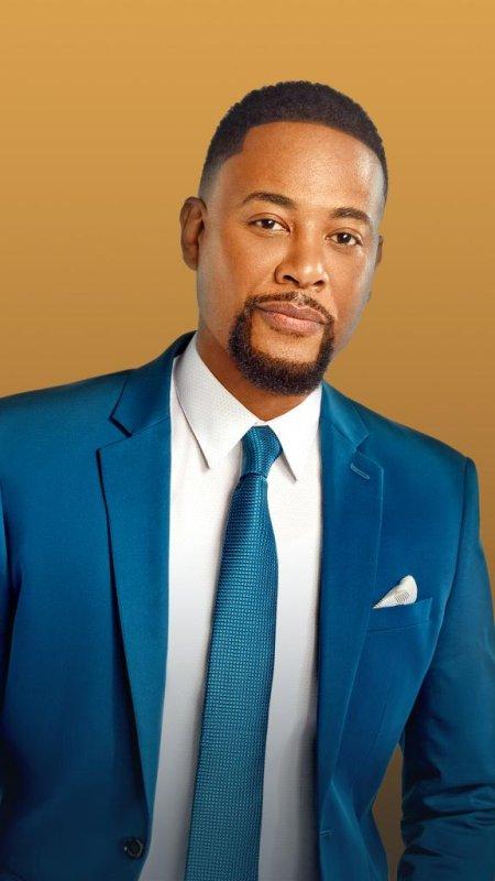 Derrex Brady plays Jarvis Johnson in Johnson. Photo courtesy of Bounce TV