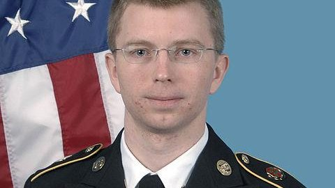Bradley Manning. (U.S. Army Photo)