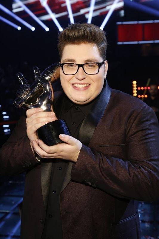 Photo of The Voice winner Jordan Smith, courtesy of NBC Universal