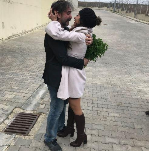 German journalist Deniz Yucel greets his wife Friday after his release from an Istanbul, Turkey, prison. He was arrested in 2016 on terrorist-related charges and spent a year in jail awaiting his trial. Photo courtesy of Veysel Ok/Twitter