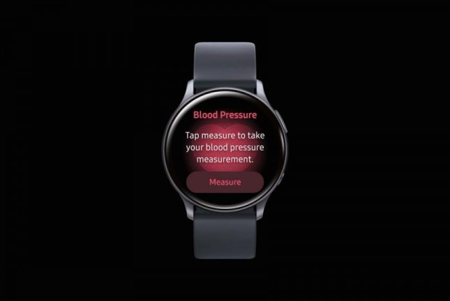 Samsung Electroncs is producing an app for the Galaxy Watch to measure blood pressure. Photo courtesy of Samsung Electronics