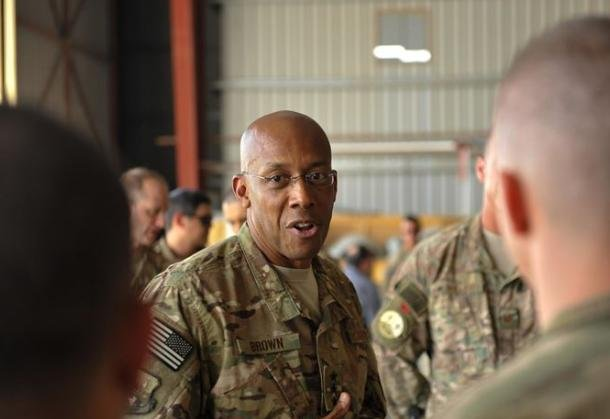 Gen. Charles Q. Brown is expected to be nominated as the next U.S. Air Force chief of staff, Defense Department officials disclosed on Monday. File Photo by Maj. Tony Wickman/U.S. Air Forces Central Command