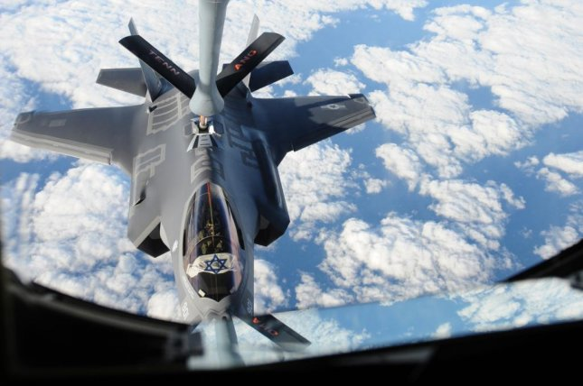 Israeli F-35 Adir being refueled by Tennessee Air National Guard KC-135. Photo courtesy of the Air Mobility Command.