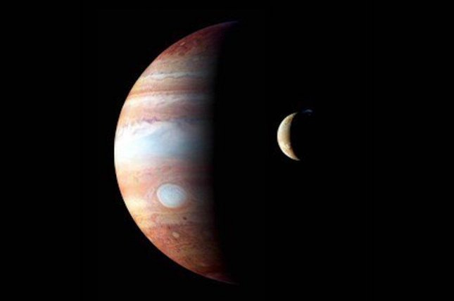 Astronomers suggest it's possible Jupiter once hosted but later ejected one or more giant moons. Photo by NASA/Johns Hopkins University/Southwest Research Institute