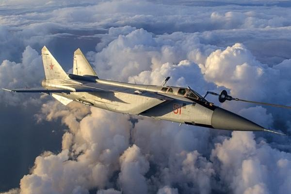 The modernized MiG-31BM fighter now flying with the Russian Air Force. Photo: Rostec Corporation.