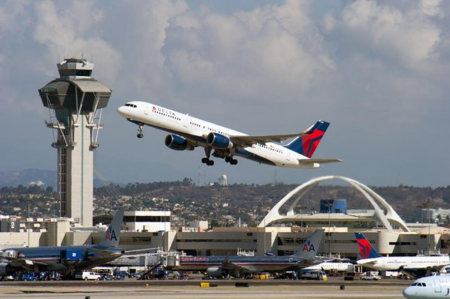 A Delta Air Lines passenger plane takes off at Los Angeles International Airport. On Thursday, the U.S. Department of Transportation announced eight American carriers, including Delta, will be able to launch commercial service to Havana, Cuba, beginning later this year from 10 American cities, including Los Angeles. File photo by Christopher Halloran/Shutterstock
