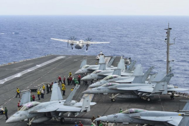 US Navy plane with 11 aboard crashes into Pacific; 8 found alive