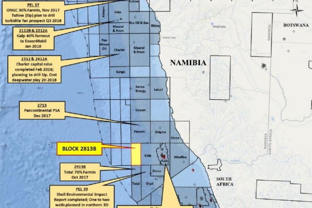 Namibia Emerging As Next West African Oil Frontier Upi Com