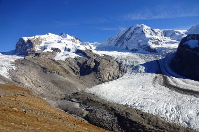 The Alps will be mostly ice-free by 2100 if climate change isn't slowed. Photo by M. Huss