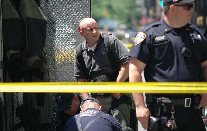 Police identify explosives found in Central Park bomb