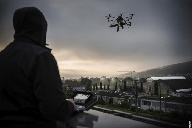 Rheinmetall's Radshield system provides counter-drone monitoring at secured facilities. Photo courtesy of Rheinmetall