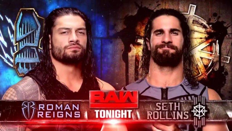 Wwe Raw Roman Reigns Seth Rollins Clash Upi Com