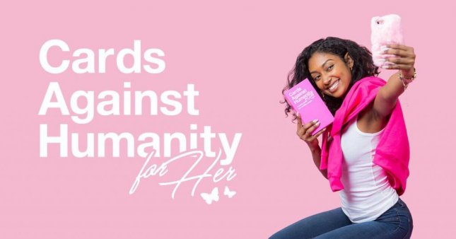 Chicago-based card game company Cards Against Humanity has released a more expensive version of its original set of cards branded as Cards Against Humanity For Her.