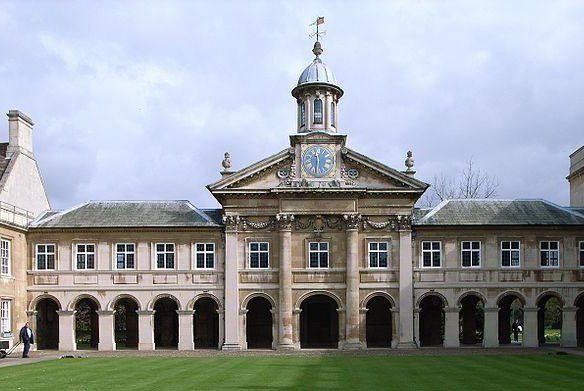 Cambridge University announced Tuesday that it will not hold face-to-face lectures in the upcoming academic year, holding most classes online until summer 2021. Photo by Emmanuel College/Wikimedia Commons