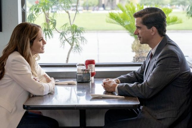 Amy Brenneman (L) and Hamish Linklater will be seen in the 10-part thriller, Tell Me Your Secrets, starting Friday. Photo courtesy of Amazon Prime Video