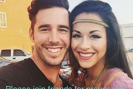 Craig Strickland with wife Helen Strickland. The singer was found dead Jan. 4. Photo by Helen Strickland/Instagram