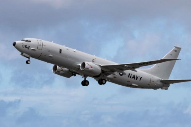 The U.S. Navy successfully tested AGM-84D Harpoon missiles fired from a P-8A Poseidon surveillance plane at NATO's At-Sea Demo/Formidable Shield 2021 exercises this week. Photo courtesy of U.S. Navy