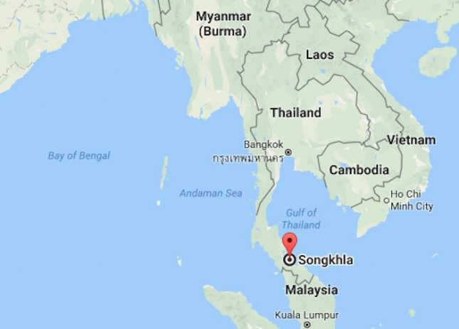 20 uighur inmates dig their way out of thai jail upi a group of 20 uighur muslim inmates dug their way out of a prison near the border of thailand and malaysia on monday image courtesy of google maps gumiabroncs Images