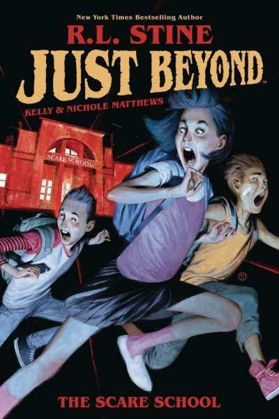 A cover to R.L. Stine's graphic novel series Just Beyond. Disney+ has ordered a television series based on the graphic novels. Image courtesy of Disney+