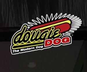 The Dougie Dog logo, via the Dougie Dog website.