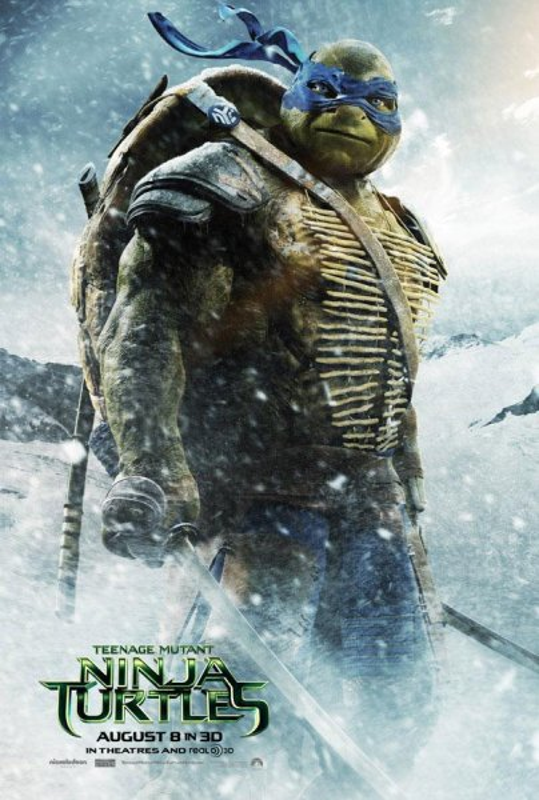 Leonardo in 'Teenage Mutant Ninja Turtles.' (Paramount Pictures)