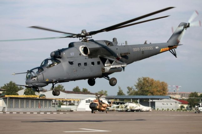 Kazakhstan is procuring Russian made Mi-35M attack rotorcraft, pictured, to replace its aging fleet of Mi-24 aircraft. Photo courtesy of Russian Helicopters