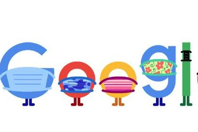 Google has released a new Doodle that encourages wearing a mask during the COVID-19 pandemic. Image courtesy of Google