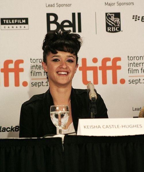 Actress Keisha Castle-Hughes in 2009. (Photo by Mani Mobini via Wikimedia Commons)