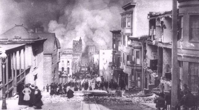 Geological evidence suggests 1906 San Francisco quake one of series