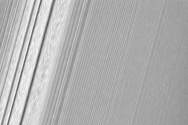 Cassini's latest images reveal Saturn's rings in unprecedented detail. Photo by NASA/JPL