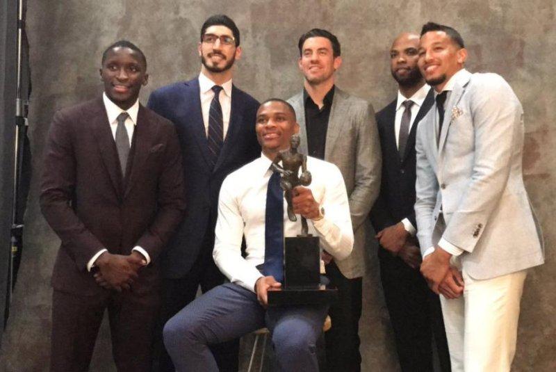 7f417c330097 OKC s Russell Westbrook earns NBA MVP award over James Harden ...