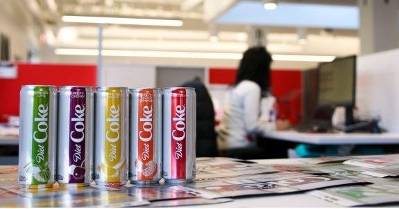 Diet Coke launches new look and 4 new flavors