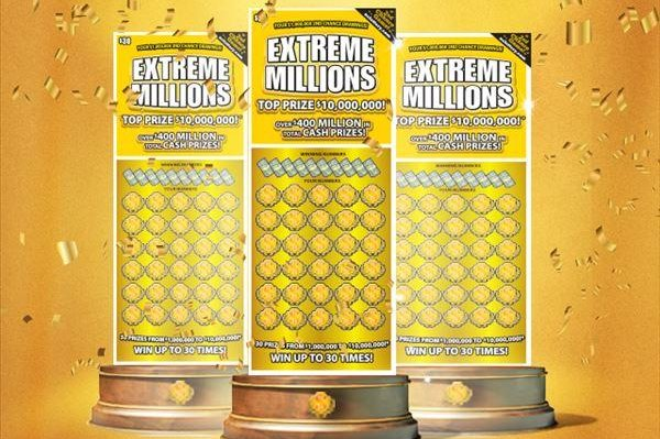 A North Carolina man said his $1 million winning lottery ticket spent days on the floorboards of his car when he mistook it for a losing ticket. Image courtesy of the North Carolina Education Lottery